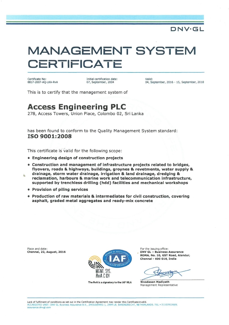 Accreditation access engineering plc international certifications and memberships xflitez Choice Image