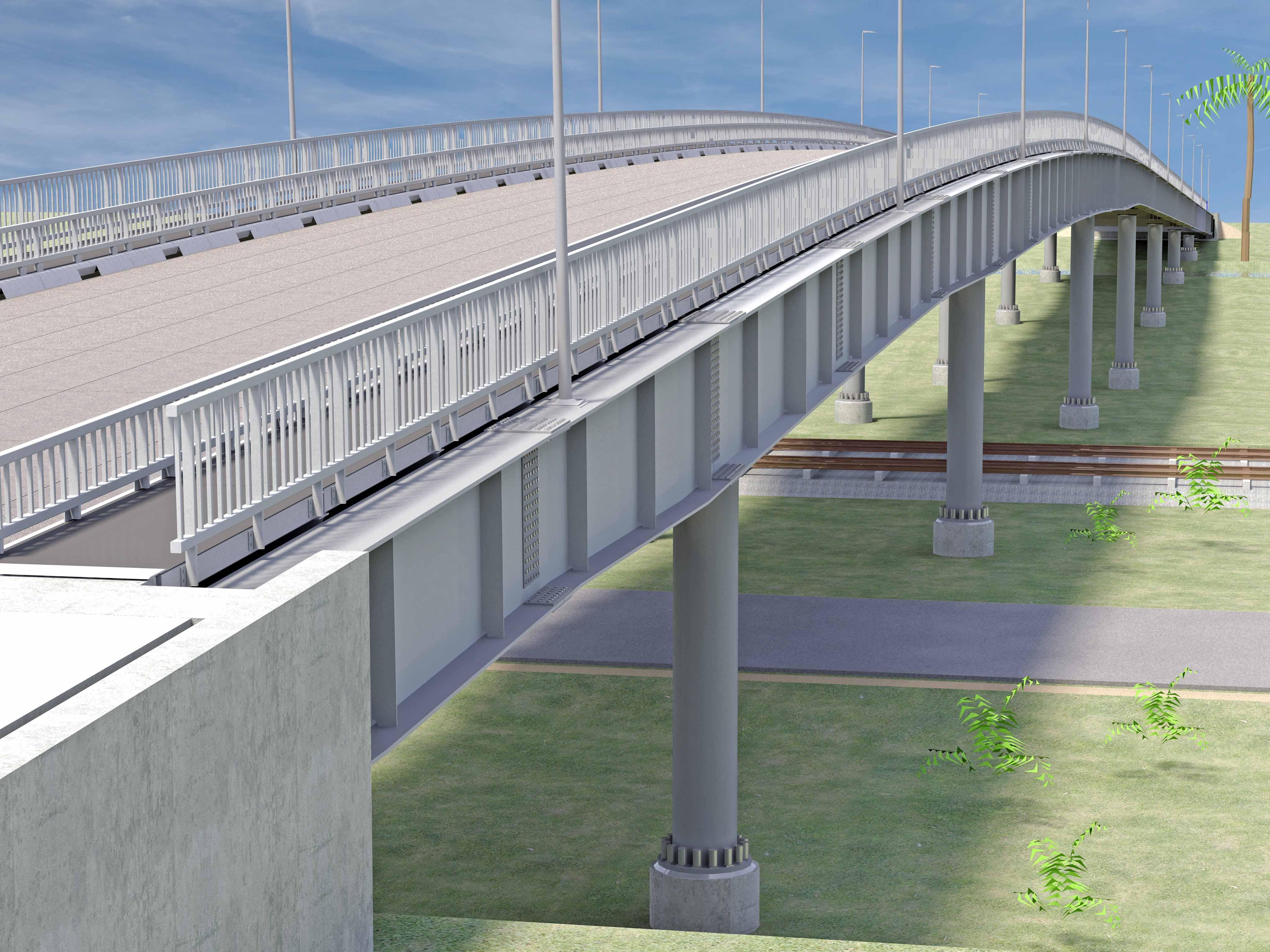 Design construction of polgahawela flyover access for Design construction