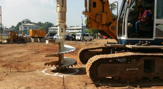 Piling | Project Types | Access Engineering PLC
